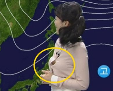 由于韩国女主播在播报新闻途中走光已经不是第
