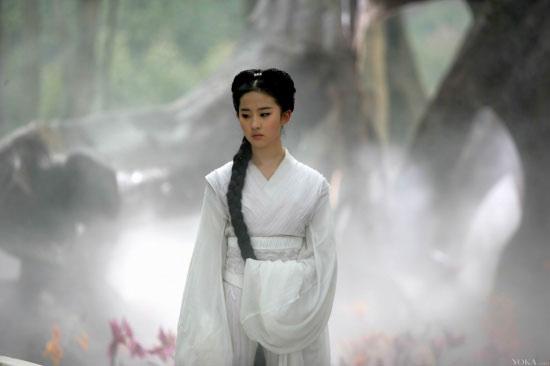 盘点影视剧中的古装白衣美女