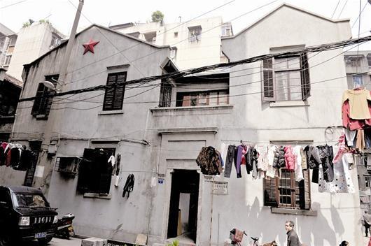 刘少奇/刘少奇旧居位于汉口友益街尚德里1号。