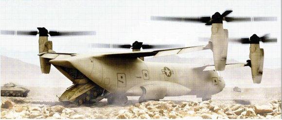 ��9ۍv_图9——v-44四旋翼倾转旋翼机的概念设计.&nbsp