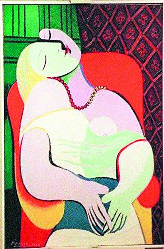 毕加索的名画作品名称及这幅画的简介