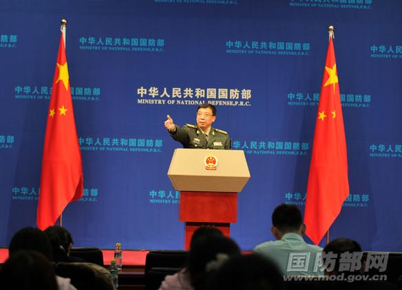 国防部:中方掌握日舰机近距离跟踪干扰证据(1