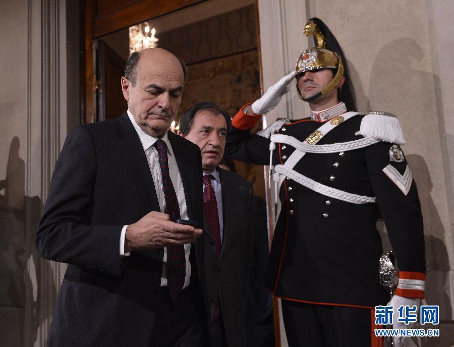 意大利中左翼领导人宣布第一轮组阁磋商无果(组图)