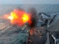 韩国环半岛火炮演习