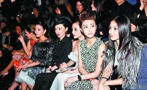 中国新生代女演员,一水儿的锥子脸