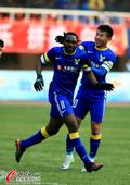 中超图:阿尔滨3-3东亚 乌塔卡庆祝