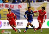 中超图:阿尔滨3-3东亚 陈涛遭夹击