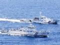 挺进钓鱼岛 6艘中国海监船维权执法