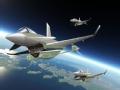 美日军事演习:假想飞机接近日本海上空