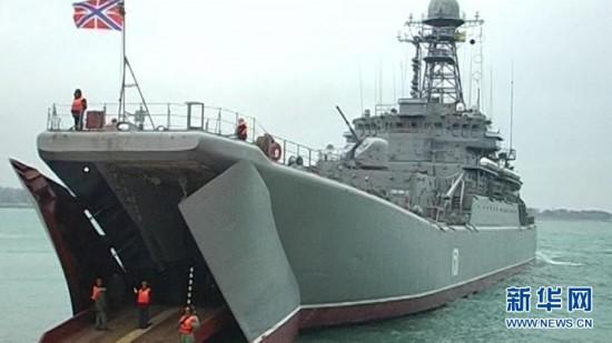 普京观摩俄罗斯黑海舰队大规模军演(高清组图)