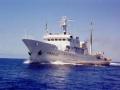 中国渔政船巡航钓鱼岛