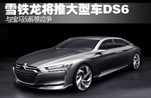 雪铁龙将推大型车DS6 与宝马5系等竞争