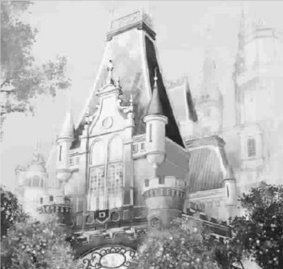 """""""奇幻童话城堡""""(效果图)等上海迪士尼景点将中英文同步命名"""