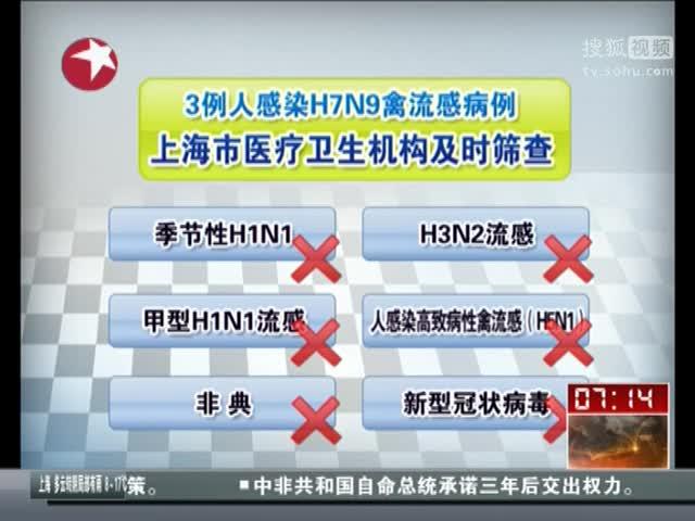 国家卫生和计生委:发现3例人感染H7N9禽流感病例