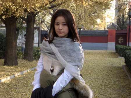 """林心如/林心如你还记得""""当年漱芳斋的夏紫薇吗?"""