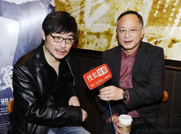 专访《毒战》杜琪峰韦家辉【点击查看更多高清图】