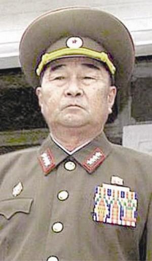 朝鲜人民军副参谋长 金格植
