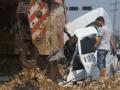 视频:温州支队 滨海二道十二路叉口事故