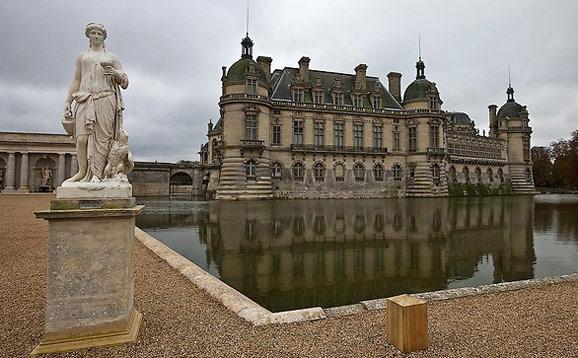 法国巴黎古堡图片