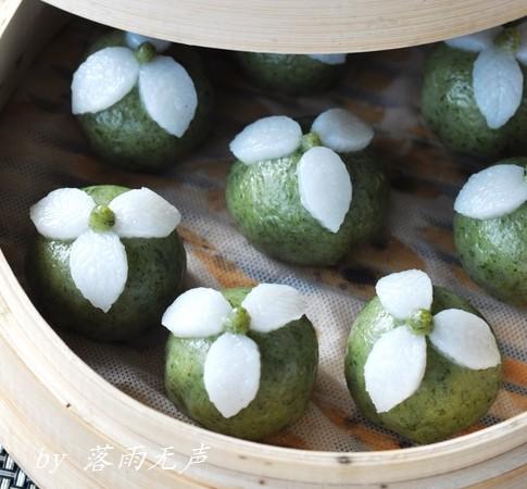 清明特色美食:三叶草清明团子