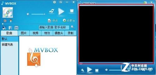 mvbox背景_mvbox视频采集分辨率小画中画效果是单视窗模式