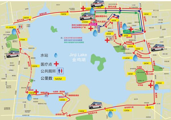 金湖半程马拉松期间将实临时(图)搜狐苏州
