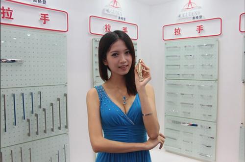 广东靓模冯凯韵在奥格登展台