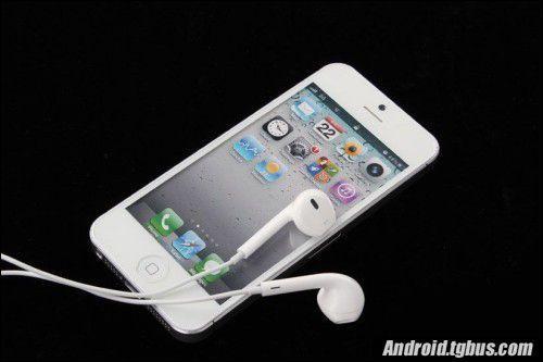 iphone 5手机正面照片