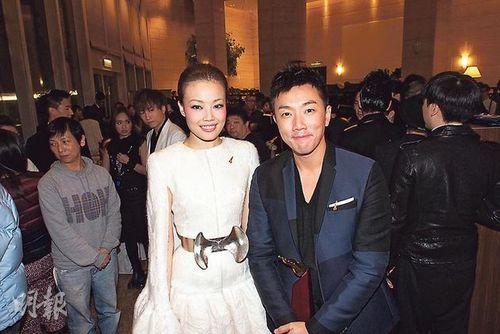 容祖儿、刘浩龙 香港《明报》
