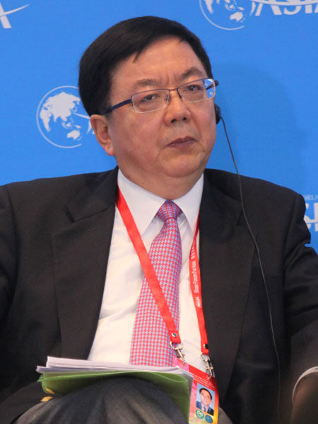 上图为讨论嘉宾中国国际金融公司董事长李剑阁
