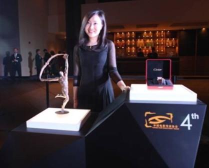叶兰在中国导演协会提名晚宴上