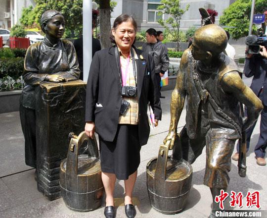"""泰国公主诗琳通武汉踏访""""她的城"""""""