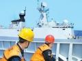 南海编队进西太平洋训练