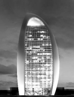 人民日报新大楼效果图