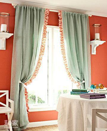diy个性窗帘 把窗户从简单变身到别致(组图)