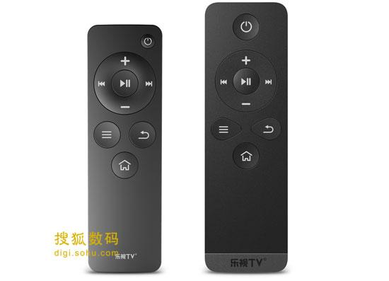 C1(左)的遥控器与C1S(右)遥控器对比