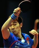 图文:亚洲杯闫安获得男单亚军 闫安侧身回球