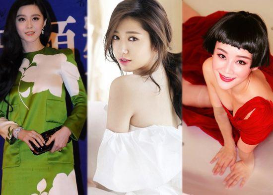 杨颖妖艳宋慧乔淡如菊 女星争做春天里的花姑娘(组图)