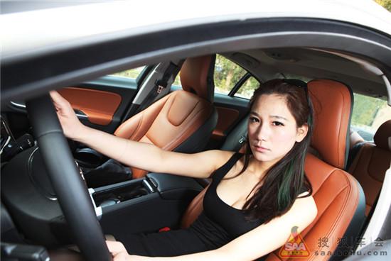 【美女车故事】s60小白领加入窝窝大家族 搜狐汽车