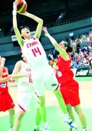 李明阳14号曾经是中国青年女篮的主力中锋 /网易供图