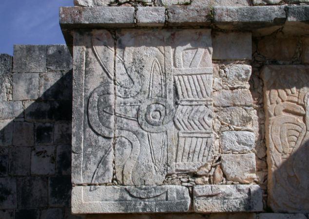位于伯利兹城卡约区卡拉科尔的caana金字塔.