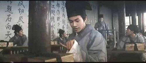 何润东,在1994年的电影版梁祝里