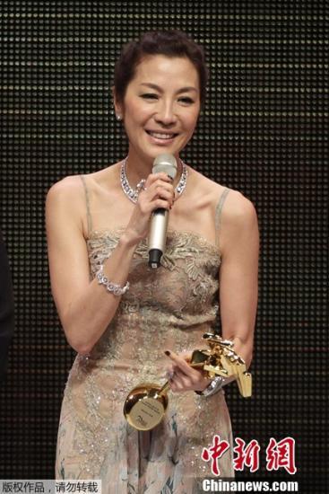 资料图:华裔国际巨星杨紫琼。