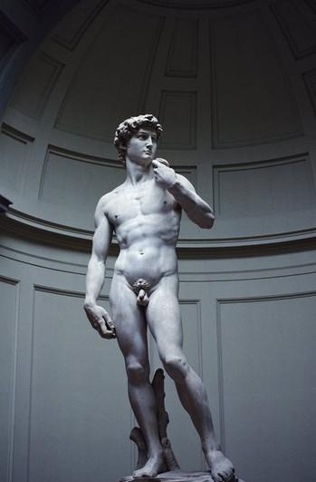 鉴黄师面试题目:央视为何给大卫雕塑打马赛克   大卫雕塑