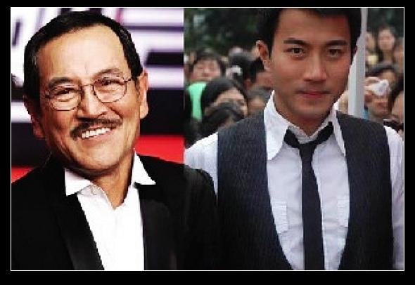 刘恺威与父亲刘丹