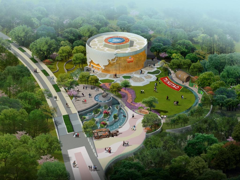园_青岛啤酒携2014青岛世园会打造啤酒自然休闲乐园(组图