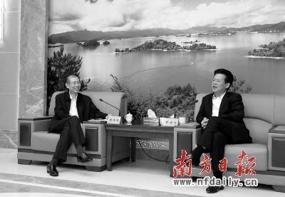 """南方日报社社长_""""把生态优势转化为发展优势""""(图)-搜狐滚动"""