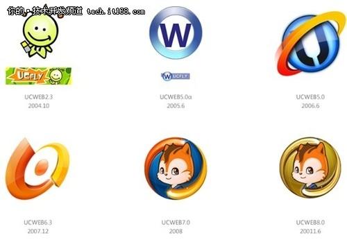 0,并加载了全新设计的 logo,新版的uc浏览器 logo从一只卡通的松鼠