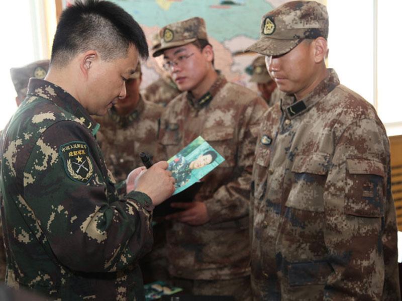 军旅歌手高歌_高清实录:《解放军生活》杂志走访北疆边防一线(组图)-搜狐滚动