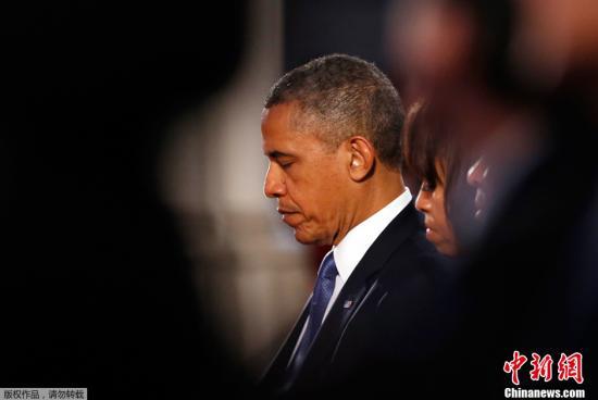 奥巴马彻夜听取波士顿缉拿爆炸案凶手进展